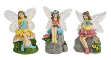 Ganz E8 Home Decor 6in H Light Up Fairy in the Garden Figurine ER53225 Choose