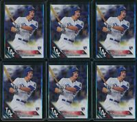 2016 Topps Chrome Corey Seager RC 6 Card Lot #150 Rookie Los Angeles Dodgers