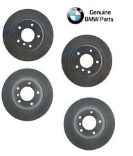 NEW BMW E46 323i Front & Rear Vented Disc Brake Rotors Kit Genuine