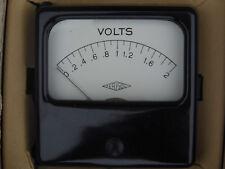 Voltmètre 3V 135x110mm Metrix dans sa boîte made in France