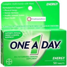 One-A-Day All Day Energy Tablets 50 ct
