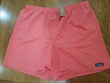 """PATAGONIA MENS BAGGIES LONGS 7"""" SWIM TRUNKS SHORTS XL SPICED CORAL 58034 RELAXED"""