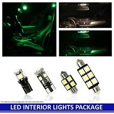GREEN LED Interior Light Accessories Replacement Kit for Dodge RAM 09-14 12 Bulb