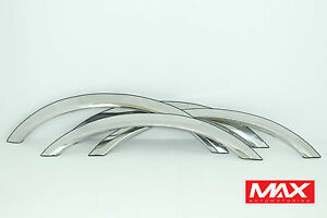 FTLC203 2003-2011 Lincoln Town Car POLISHED Stainless Steel CREASED Fender Trim