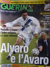 Guerin Sportivo n°10 2003  Alvaro Recoba  [GS43]
