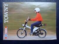 YAMAHA TOWNY 49cc - Motorcycle Sales Brochure - c1982 - #3MC-0107601-82E