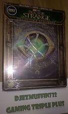 DOCTOR STRANGE STEELBOOK (BLU-RAY + DVD + DIG HD) REGION FREE (MARVEL)