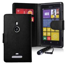32nd Book Wallet PU Leather Case Cover for Nokia LUMIA 925 Including Screen P