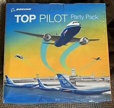 2012 Discontinued 'Top Pilot' Boeing Aviation Collectible - Party Pack - Sealed