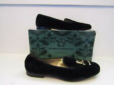 STUBBS & WOOTTON Velvet Top Hat Loafers Size US 10