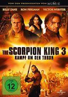 THE SCORPION KING 3, Kampf um den Thron (Victor Webster, Ron Perlman) NEU