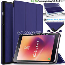 "Smart Stand Case Cover For Samsung Galaxy Tab A 8.0"" T380/T385, Tab A2 S (2017)"