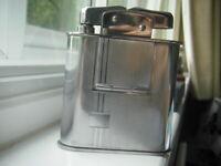 Fortnum & Mason table clock lighter