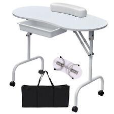 Professional Portable Foldable Mobile Manicure Nail Art Beauty Salon Table Desk