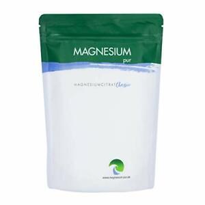 Magnesium-Pur Pulver 500g Nachfüllbeutel Citrat Magnesiumcitrat ohne Zusatz