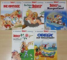 Comics Asterix & Obelix Sammlung Band 26,27,28,29,30,ungelesen/neuwertig 1A