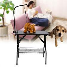 Verstellbar Trimmtisch Schertisch Pflegetisch Mit Schlingen Hund Katze bis 100kg