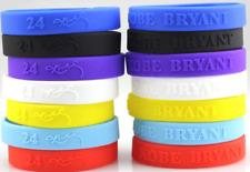 Kobe Bryant 24 Signature Basketball Silicone Bracelet Wristband Hand Band Bangle