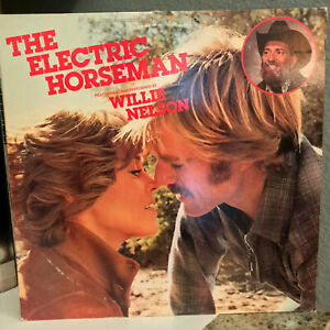 "ELECTRIC HORSEMAN Movie Soundtrack - Willie Nelson - 12"" Vinyl Record LP - EX"