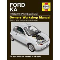 Haynes Owners Workshop Repair Manual Ford Ka 1996-2008 Petrol SERVICE NEW BOOK