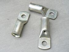 lot de 3 cosse tubulaire 185 mm² trou M12  cuivre etamé