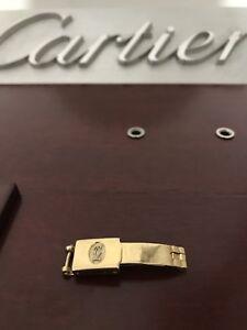 Cartier Santos Womens Watch Clasp 18k Solid Gold Genuine. Rare 8.31g