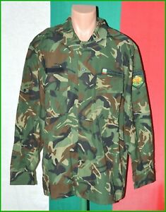 Bulgarian Army Woodland Camouflage Coat Shirt sz. L to XL