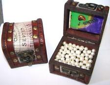 PEARL FILLED PIRATES TREASURE CHEST kids novelty pirate chests pearls jewels NEW
