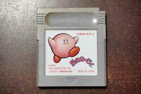 Game Boy Hoshi no Kirby 1 Kirbys Dreamland Japan GameBoy GB game US Seller