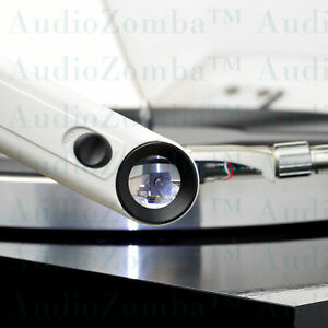 VINYL MICROSCOPIC STYLUS INSPECTION TOOL 40 X MAGNIFICATION 2 X BRIGHT LED'S