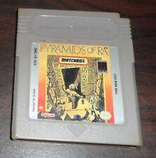 Nintendo Game Boy. Pyramids of Ra. DMG-YR-USA