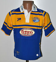LEEDS RHINOS 2005/2006 RUGBY LEAGUE SHIRT JERSEY PATRICK SIZE YL BOYS