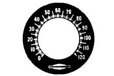 Speedometer Tin Face For Harley-Davidson