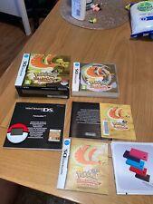 Nintendo DS - Pokemon Heart Gold - Big Box Version With Pokewalker - VGC - PAL