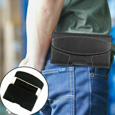 Men's Waist Bag Belt Clip Wallet Card Holder PU Leather Holster Pouch Case Cover