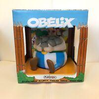 OBELIX Money Bank Box/Tirelire - Plastoy - Asterix and Obelix 2015 - New in Box