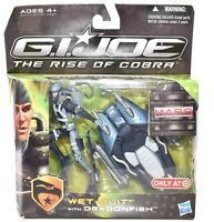 Hasbro GI Joe The Rise of Cobra Wet-Suit Dragonfish Action Figure NIB d515