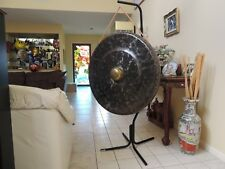 Gong Distinctive Hand Hammered Ceremonial Work of Art