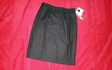 JENNIFER MOORE wool skirt dress NEW nwt sz 14 black $40 women's sexy work office