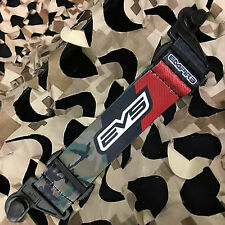 New Empire Evs Paintball Goggle Mask Replacement Strap - Camo Red