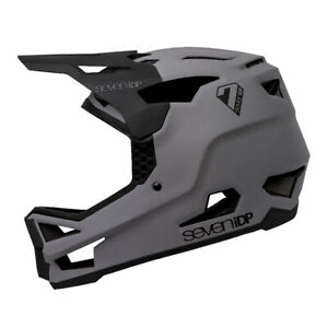 7 Protection 7iDP Project 23 GF Full Face Mountain Bike Helmet Grey Gloss Black
