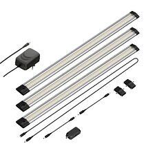 LED Unterbau-Leuchte Siris, Infrarot-Sensor, flach, je 50cm, 400lm, warm-weiß, 3