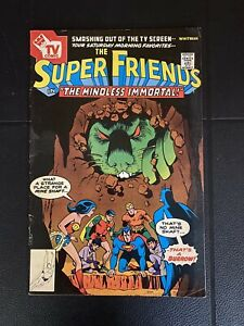 The Super Friends #13 Whitman Variant DC Comics 1978 VF Justice League