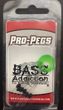 Bass Addiction Pro Pegs - Football Pegs
