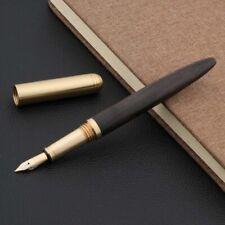 brass black sandal wood shell luxurious golden Writing Gift Fountain Pen