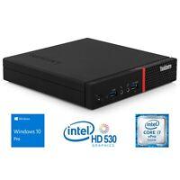 Lenovo ThinkCentre M900 i7-6700T 8GB 240GB SSD WIN10PRO TINY MINI FORM FACTOR