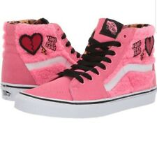VANS SK8 HI SHERPA PINK LEMONADE WOMEN'S SIZE 10 SKATE SHOES