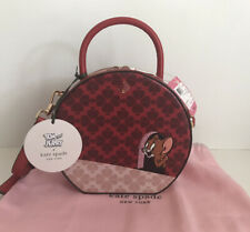 NWT!!kate spade new york x tom & jerry canteen bag In Multi MSRP $328