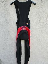 Combi Cuissard long LOOK CARBON PRO noir rouge cycling pant M 3 48
