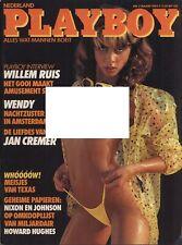 Dutch Playboy Magazine 1985-03 Donna Smith, Wendy (Night Sister) ...